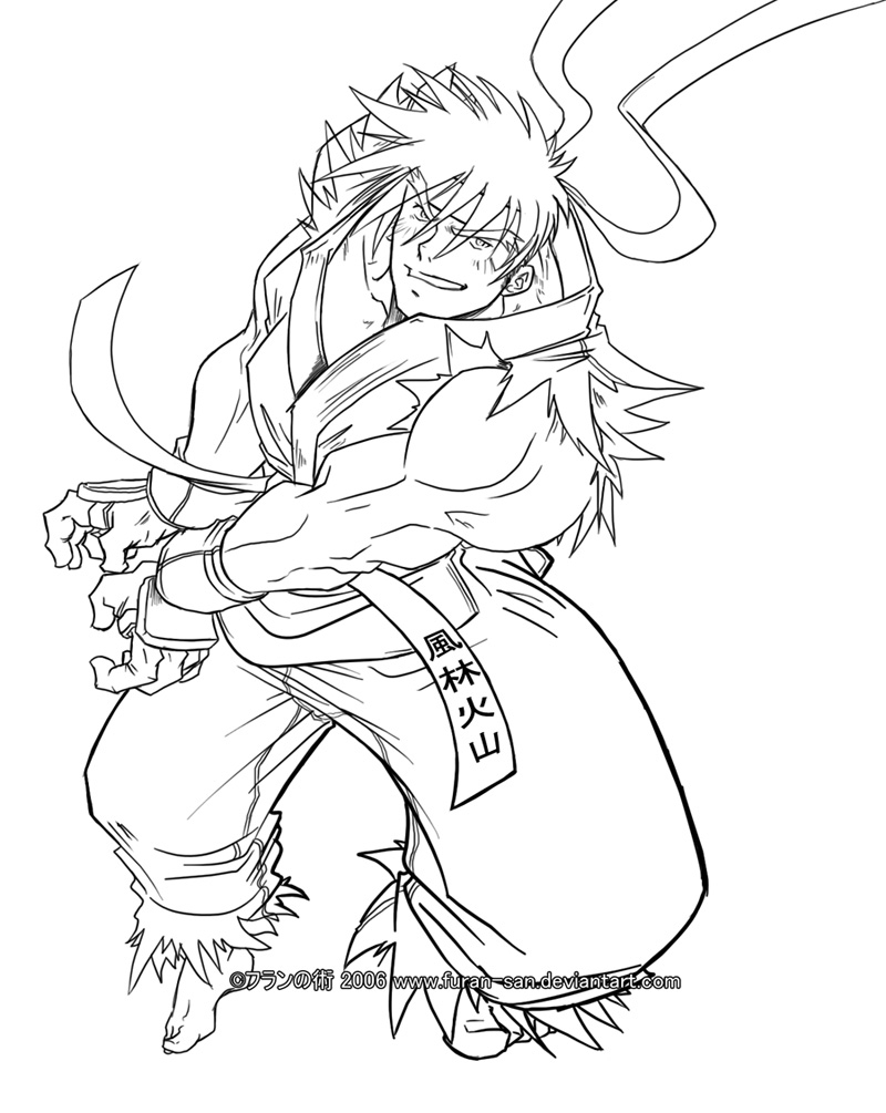 800x1005 Awesome Street Fighter Coloring Pages Gallery Free Inside
