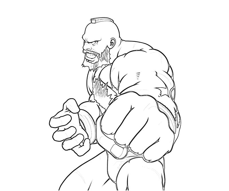 800x667 Street Fighter Zangief Punch Yumiko Fujiwara