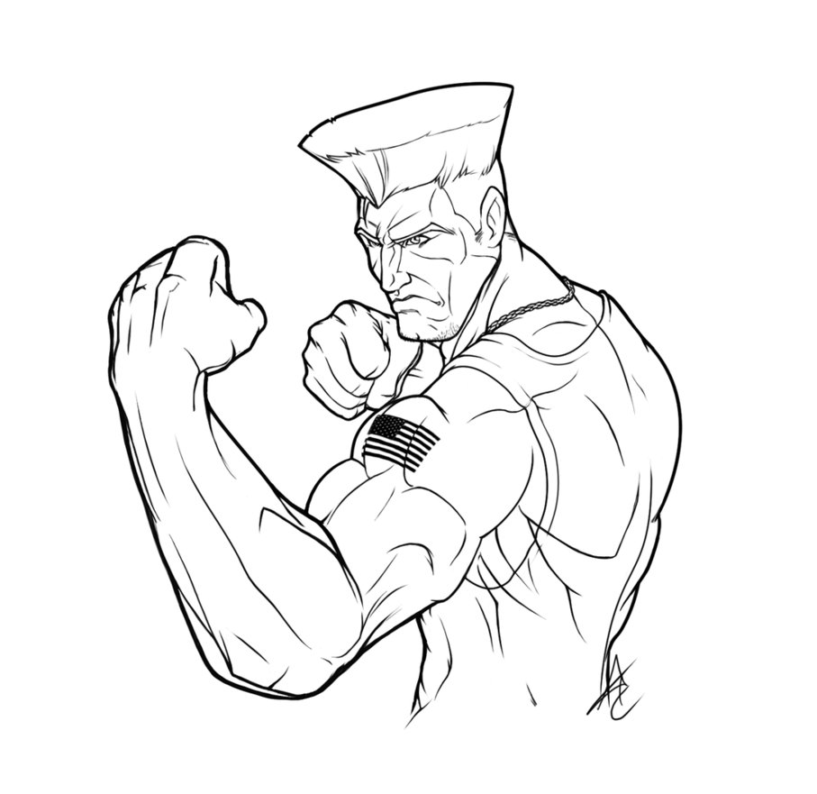 907x881 Coloring Pages For Kids Free Images Street Fighter Free Coloring