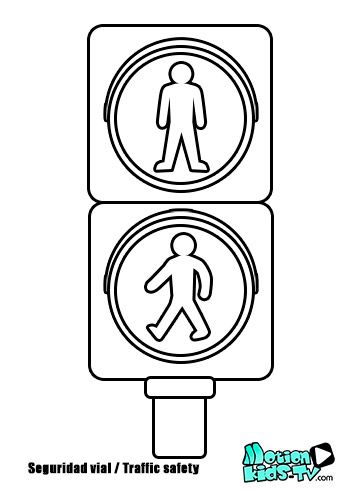 Street Signs Coloring Pages