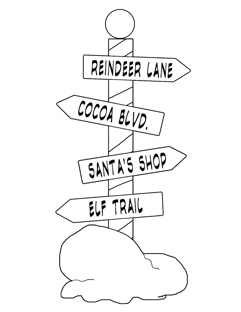 Street Signs Coloring Pages At Getdrawings Com Free For Personal