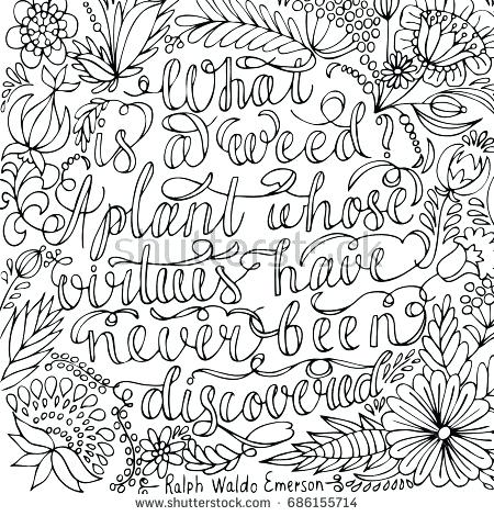 450x470 Quotes Coloring Pages Coloring Page With Motivational Quote
