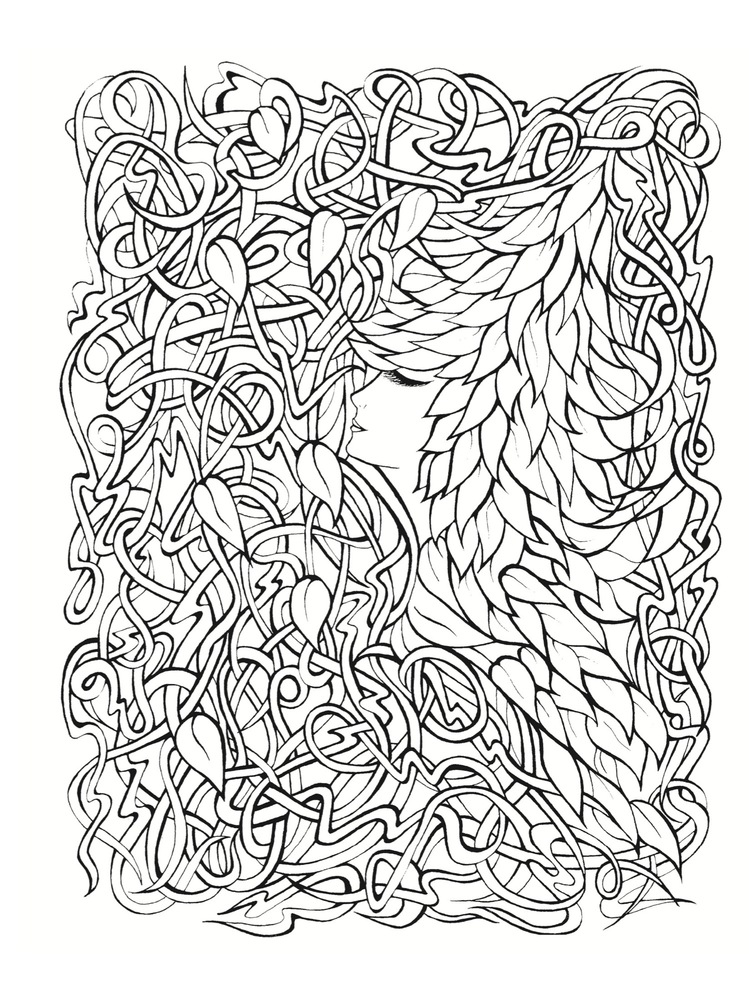 Stress Reducing Coloring Pages