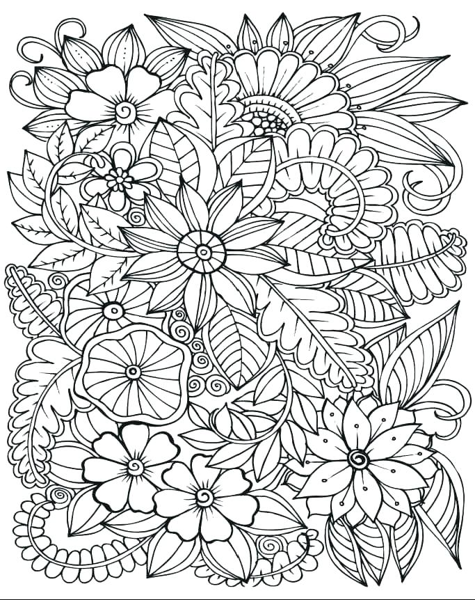 683x862 Stress Relief Coloring Pages Plus Markers Coloring Pages Stress