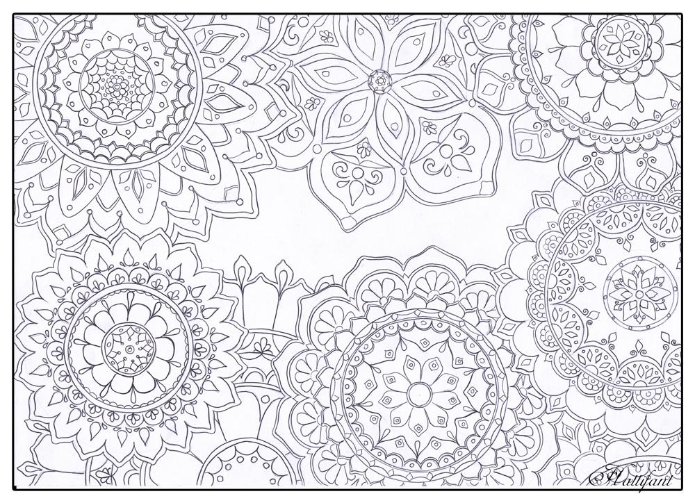 1000x724 Stress Relief Mandala Flowers
