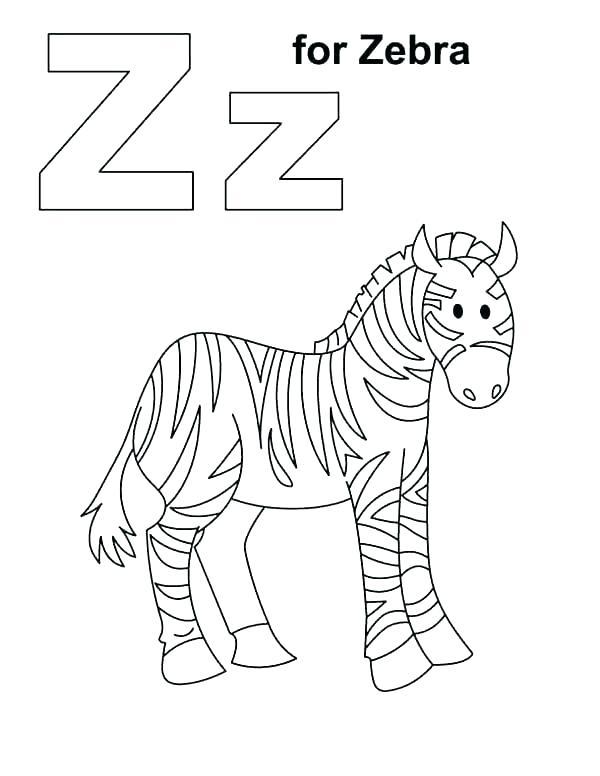 600x776 Zebra Color Page Zebra Color Sheet Zebra Color Page Zebra Color