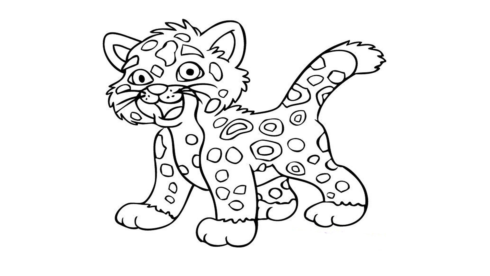 1920x1080 Daniel Tiger Coloring Pages Awesome Tiger Without Stripes Coloring