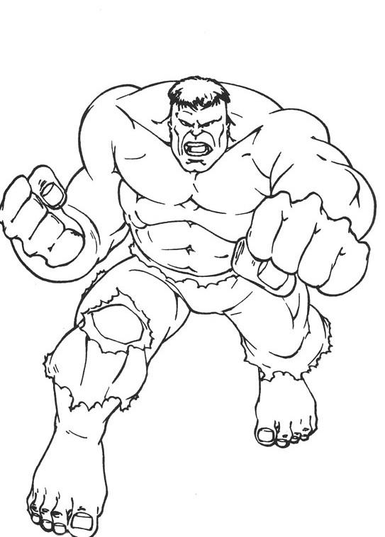 543x758 Hulk Strong Coloring Page Jonas Hulk Birthday