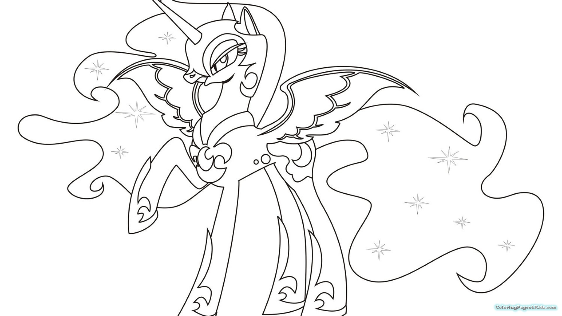 1920x1080 Strong Coloring Pages Of My Little Pony Friend
