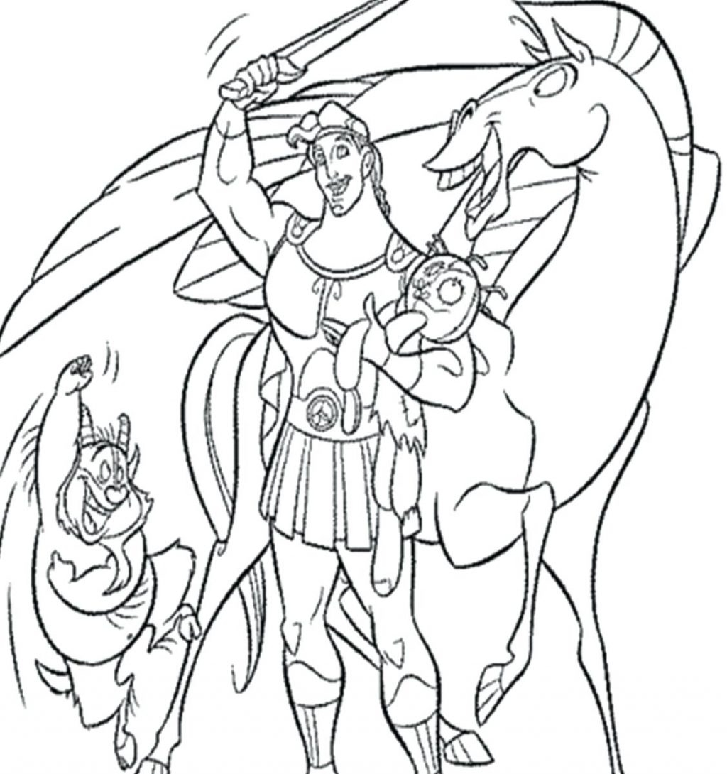 1024x1090 Cool Coloring Pages Hercules Coloring Pages And Young Strong Page