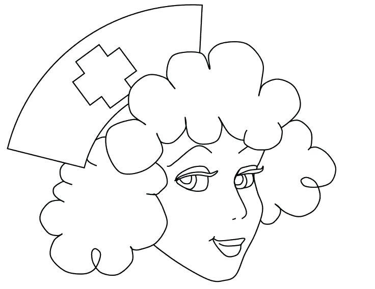 736x568 Nursing Coloring Pages Face Of Nurse Coloring Pages Nursing