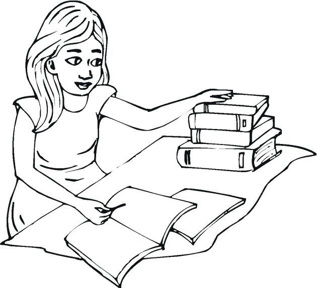 630x574 Student Coloring Pages Jobs Professor Teach His Student On Jobs