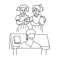 230x230 Top Teacher's Day Coloring Pages For Your Little One