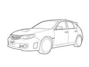 Subaru coloring pages | Free Coloring Pages | 225x300