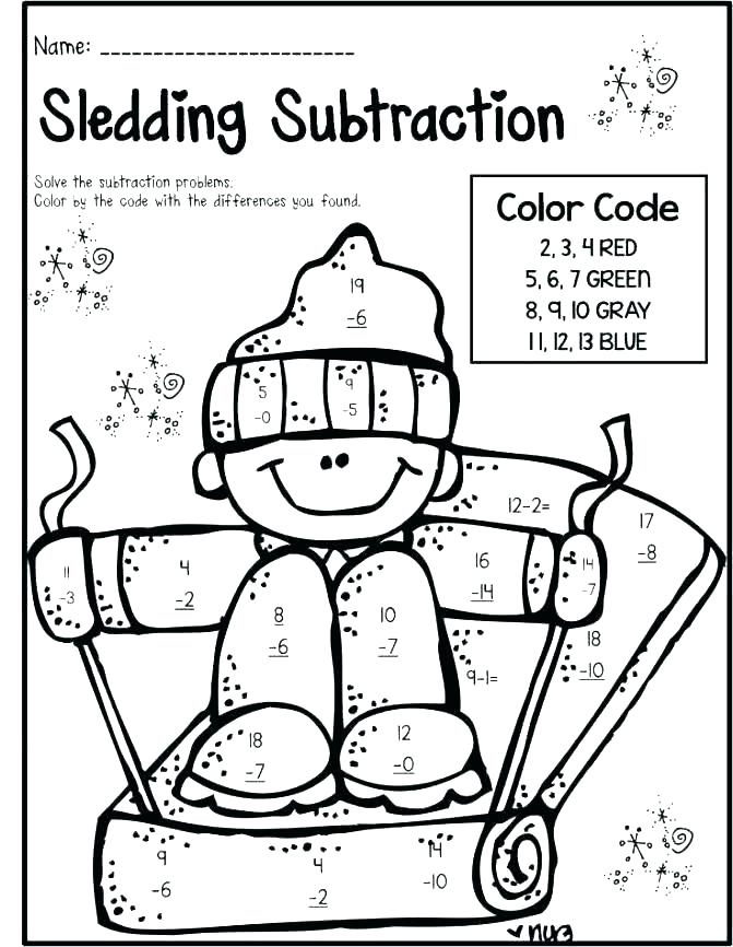 671x866 Multiplication Coloring Pages Multiplication Coloring Page