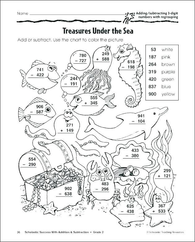 630x783 Subtraction Coloring Pages Subtraction Coloring Pages Coloring