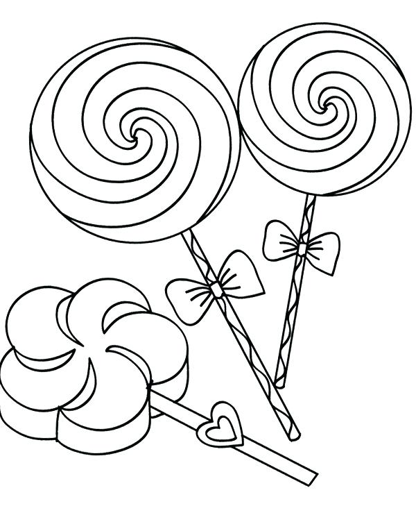 600x729 Lollipop Coloriage Lollipop Coloring Page My First Coloriage