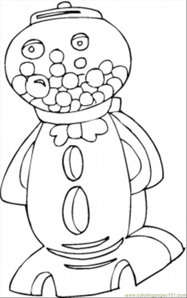 650x1038 Lollypop Coloring Pages