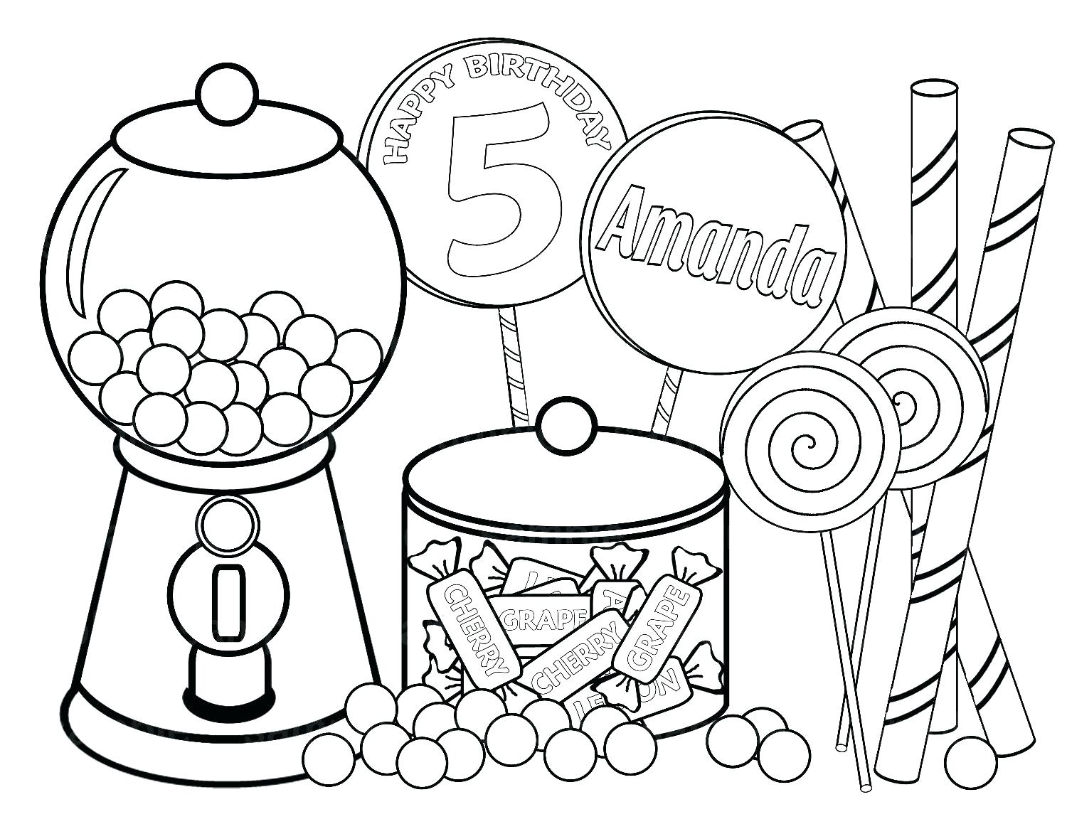 1500x1159 Coloring Pages Christmas Lollipop Page Printable Clamp Gingerbread