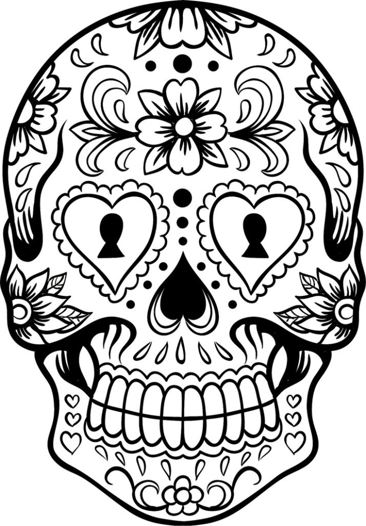 Sugar Coloring Pages