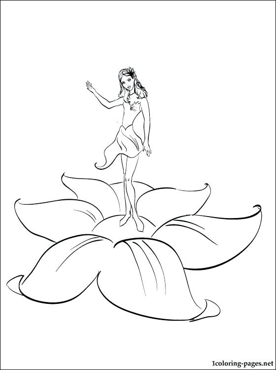 Sugar Plum Fairy Coloring Page At Getdrawings Com Free For