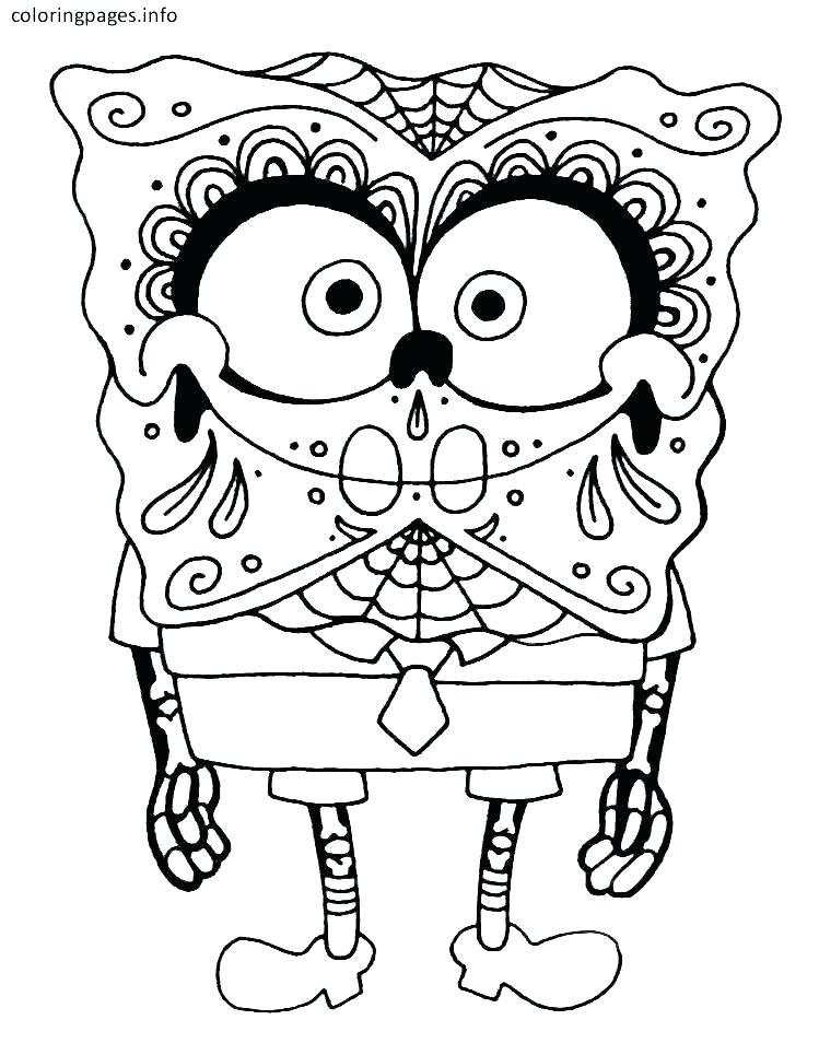749x965 Sugar Skull Color Pages Cool Skull Coloring Pages Sugar Skull