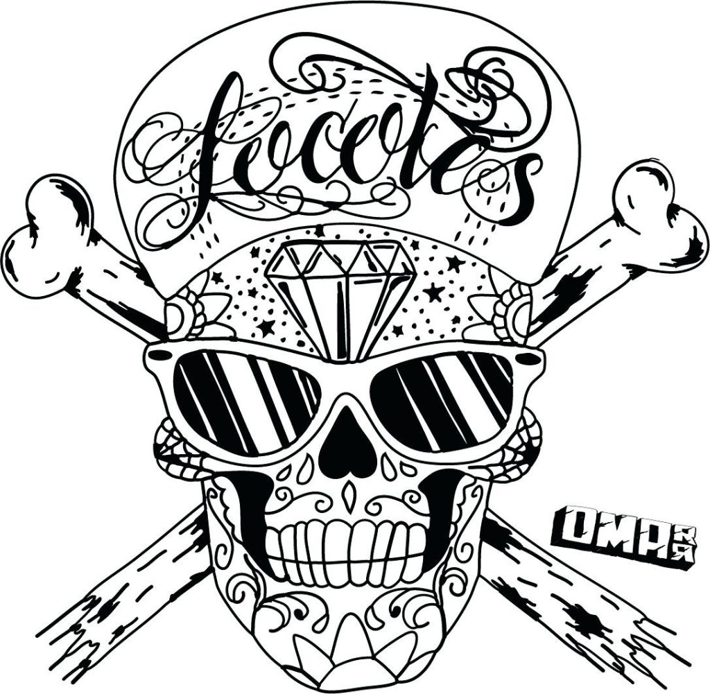 1024x1001 Coloring Pages Sugar Skull Coloring Pages For Adults A Colouring