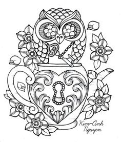 236x277 Complicolor Girly Sugar Skull Coloring Pages