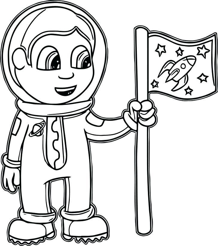 728x821 Astronaut Coloring Page Astronaut Astronaut Suit Coloring Pages