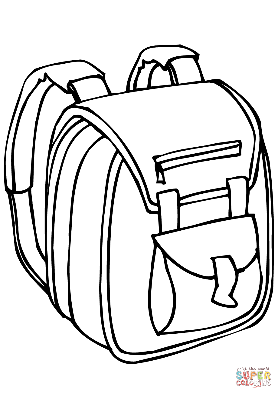 919x1300 Simplified Briefcase Coloring Page Exclusive Great Open Suitcase