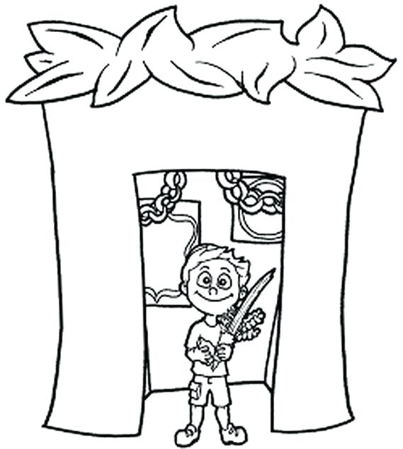 569x633 Sukkot Coloring Pages Coloring Pages For Kids Sukkot Colouring