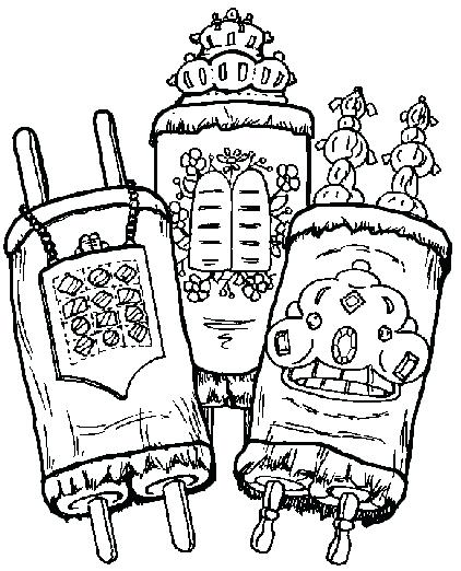 422x522 Sukkot Coloring Pages The Boy Builds A Coloring Pages Sukkot