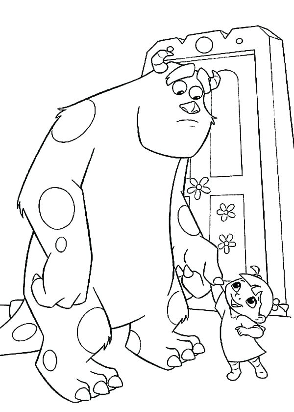 Sully Coloring Page at GetDrawings | Free download