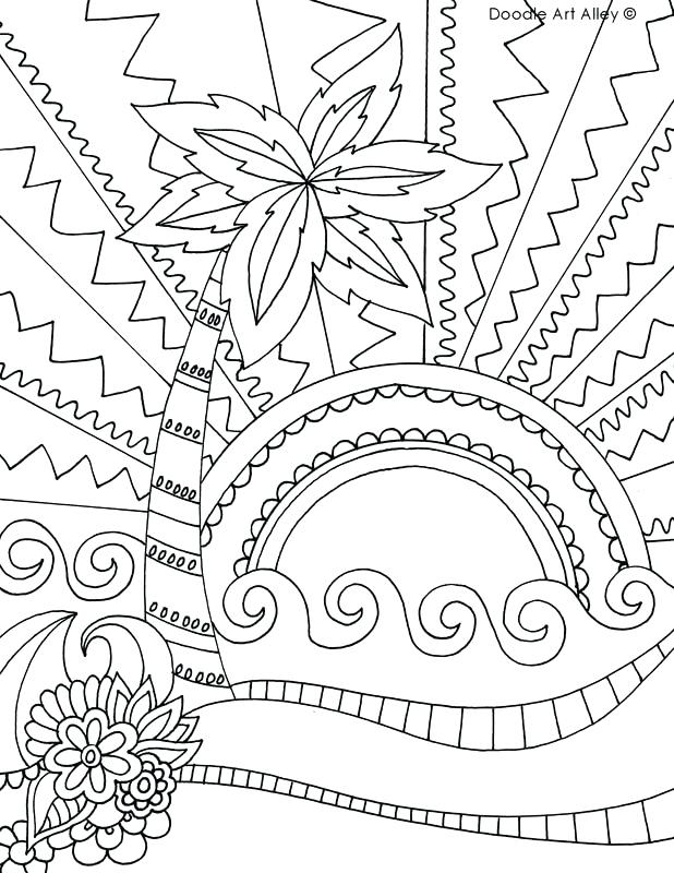 618x800 Beach Coloring Page Return To All Coloring Pages Beach Coloring