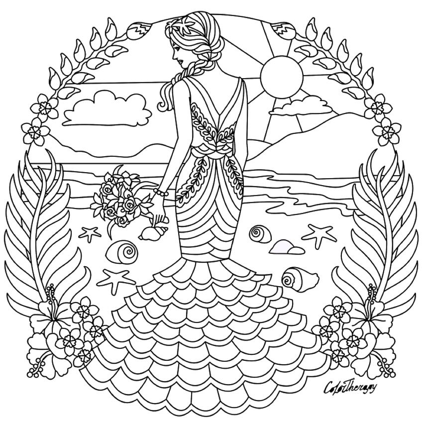 850x850 Fashion Colouring Page Fashion Coloring Pages For Adults