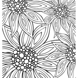 268x268 Summer Coloring Pages For Adults Archives