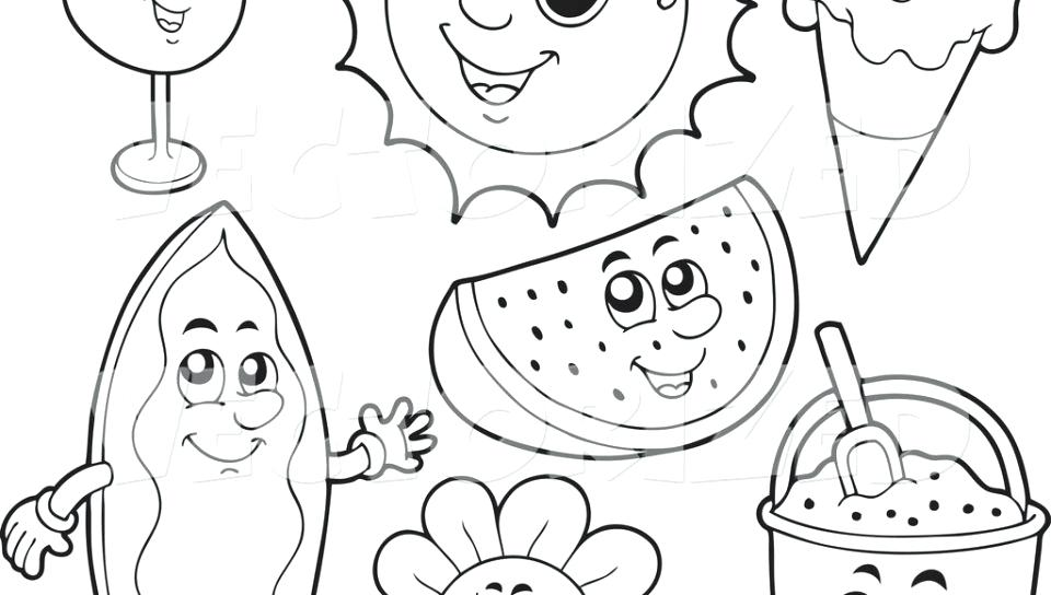 960x544 Summer Coloring Pages Printable Adult For Grade Free Adults Best