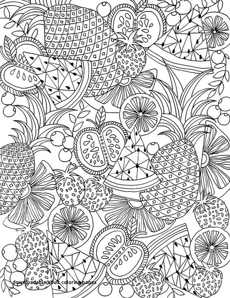 743x960 Summer Coloring Pages Adults This Summer Coloring Pages