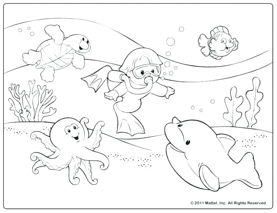 Summer Beach Coloring Pages For Kids at GetDrawings.com | Free for ...