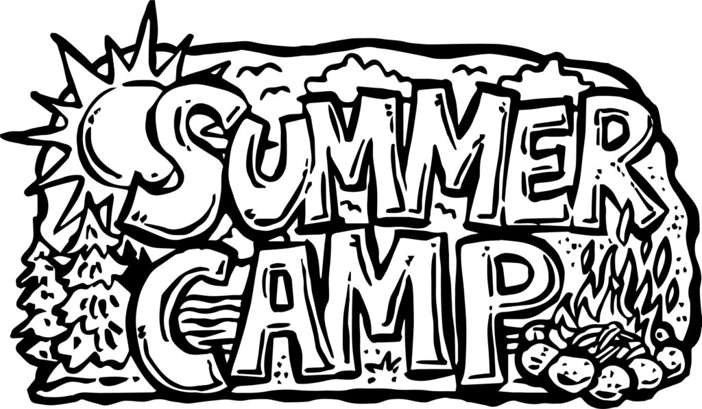 1024x597 Summer Camp Coloring Pages