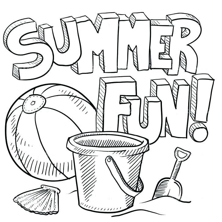 728x728 Summer Coloring Pages Summer Coloring Book Pages Summer Coloring