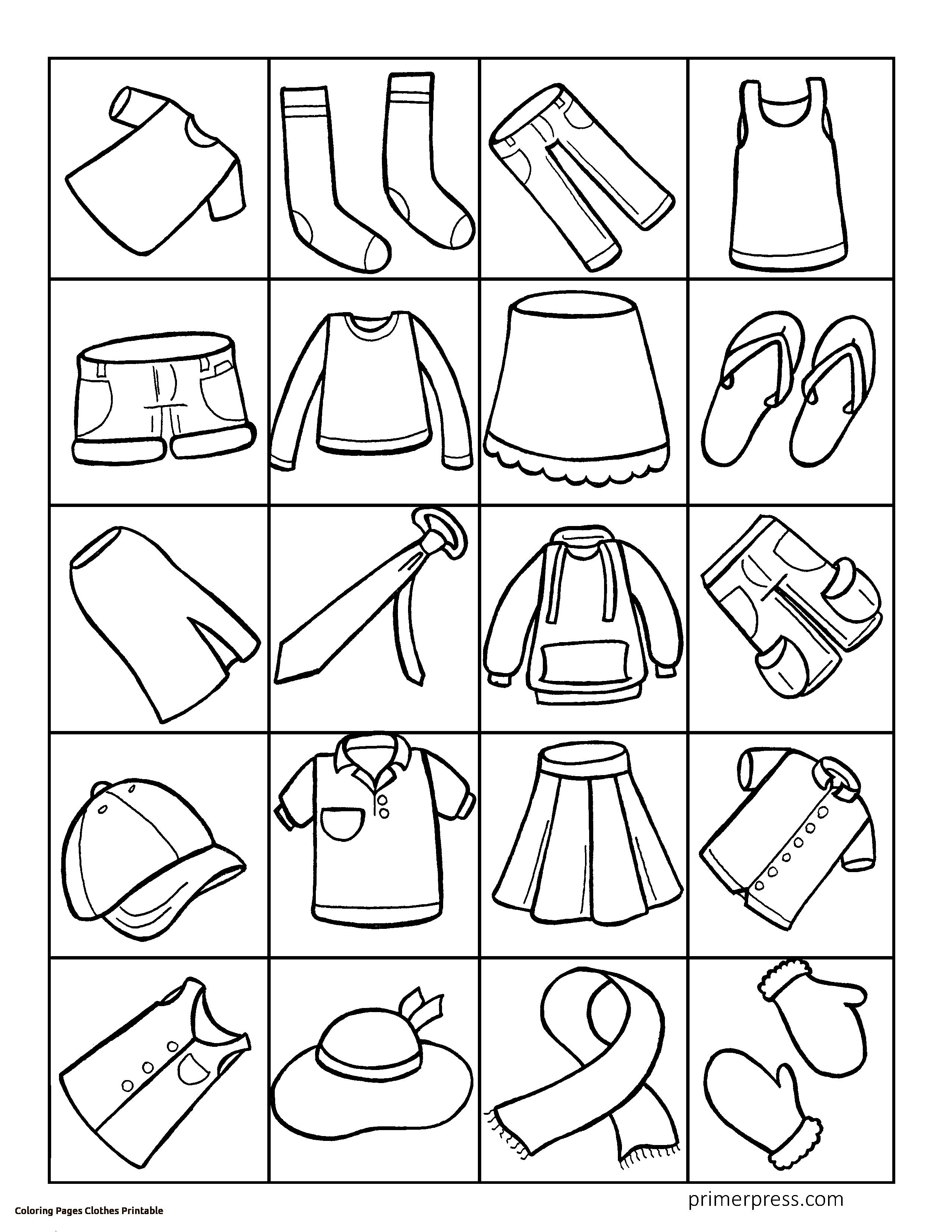 2550x3300 Nice Summer Clothes Coloring Pages Embellishment