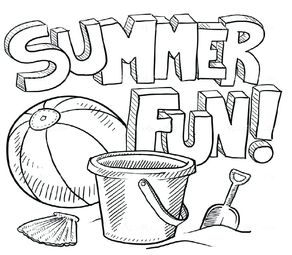 948x827 Printable Coloring Pages Summer Summer Coloring Pages Printable