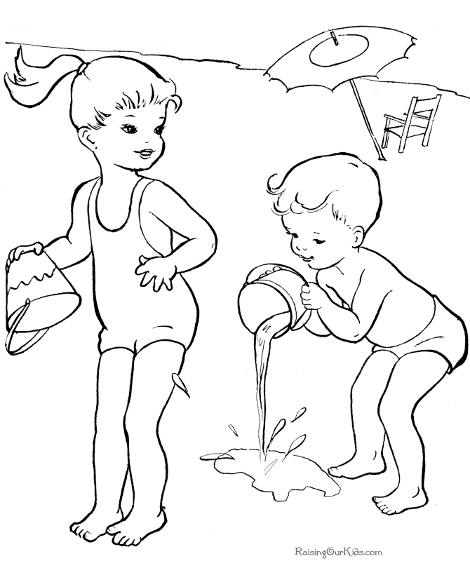 670x820 Summer Coloring Page New Summer Clothes To Colour Coloring Pages