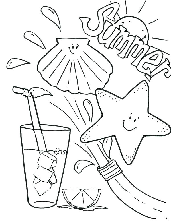 600x784 Coloring Clothes Coloring Pages Summer Clothing Page Shirts