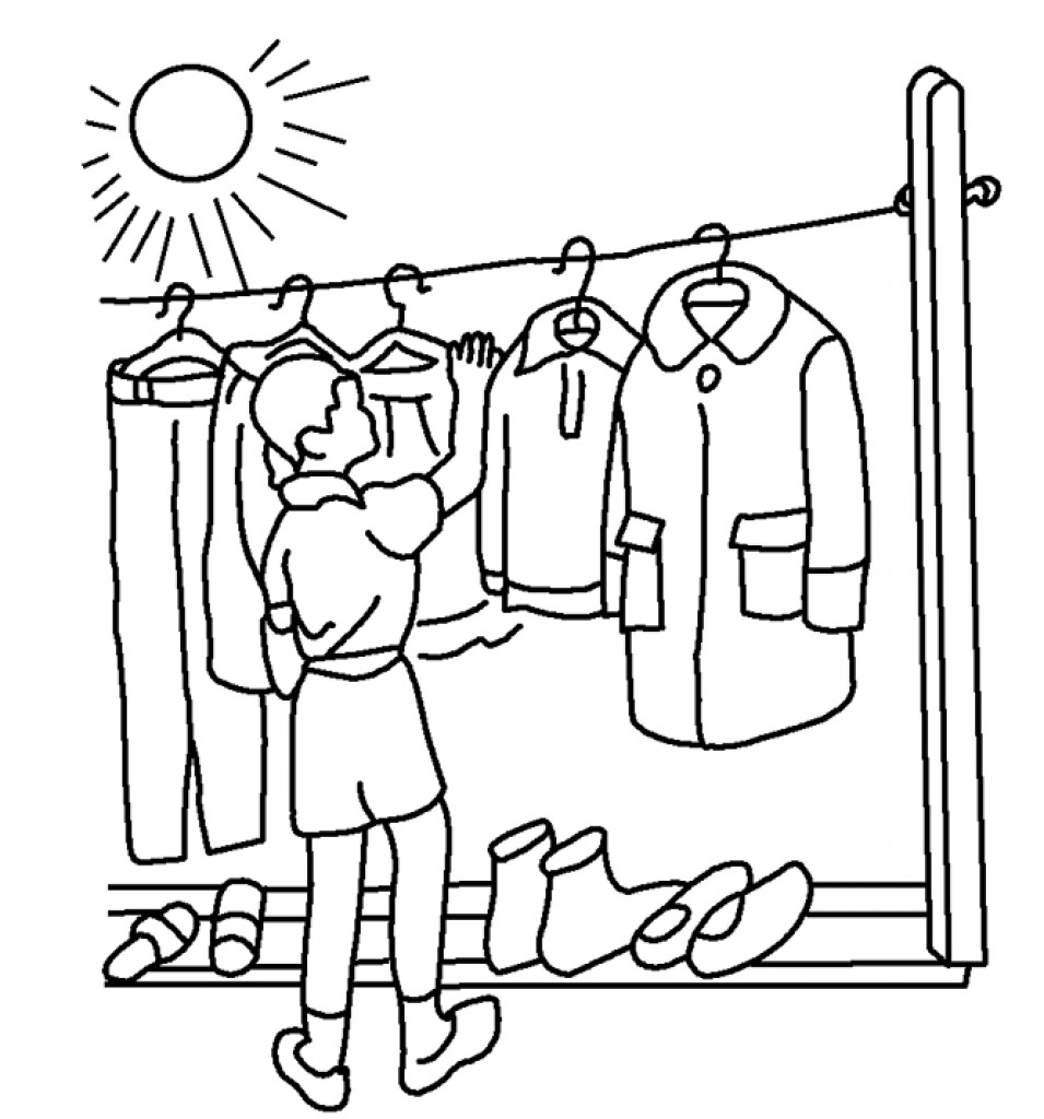 955x1024 Clothing Coloring Pages Acpra