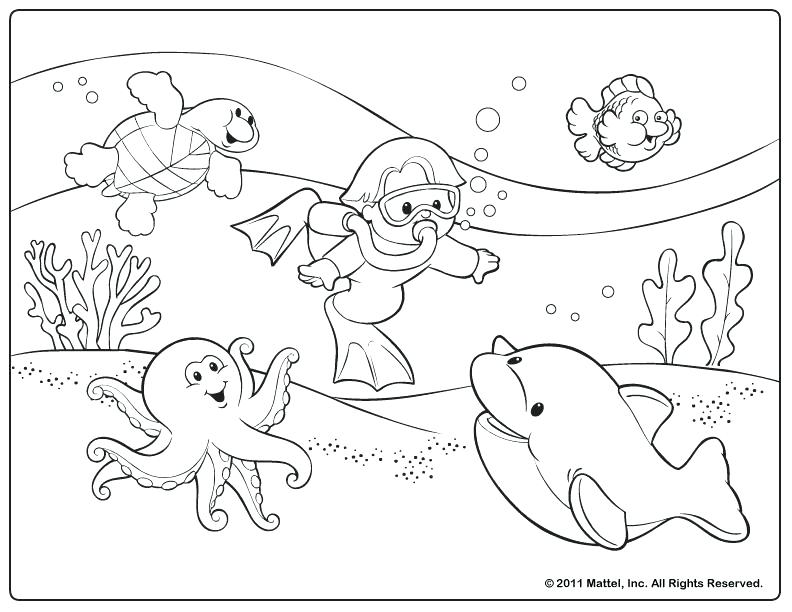 792x612 Summer Coloring Activities Summer Activities Coloring Pages