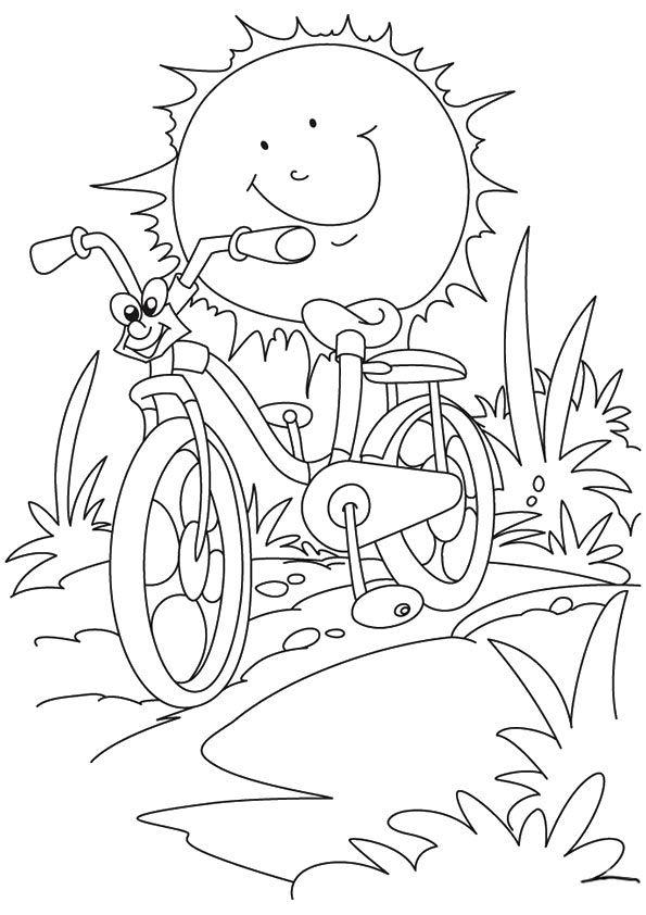 595x842 Download Free Printable Summer Coloring Pages For Kids! Free