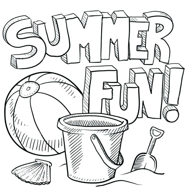 Summer Coloring Pages For Kids at GetDrawings.com | Free for ...