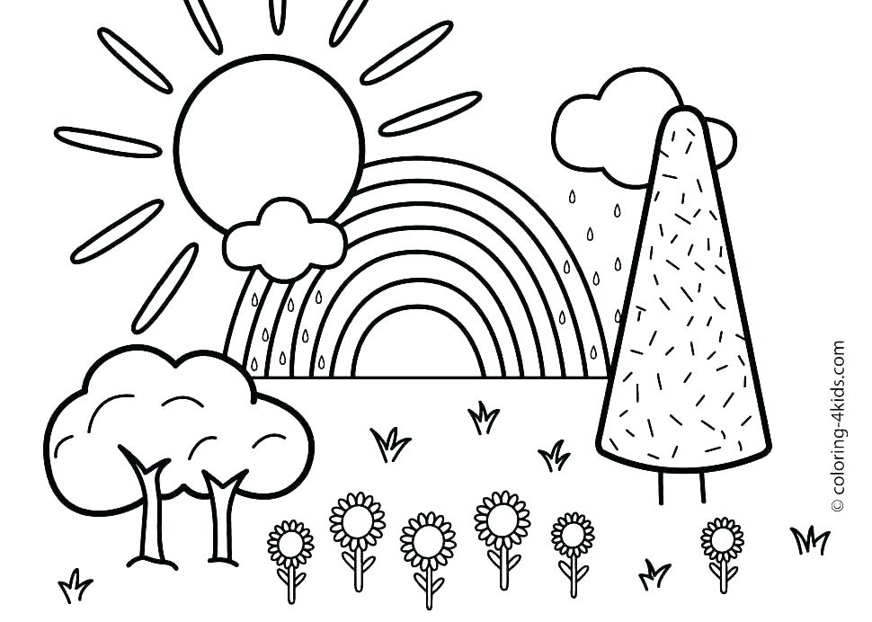 Summer Coloring Pages For Kindergarten at GetDrawings ...